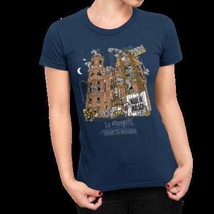 Camiseta Catedral de Málaga Made in Málaga