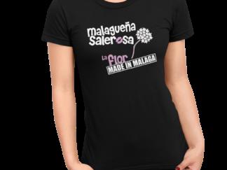 Camiseta malagueña salerosa la flor de malaga