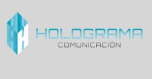 logo holograma comunicacion 300x156
