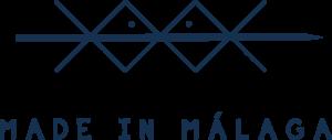 Logotipo Made in Málaga azul