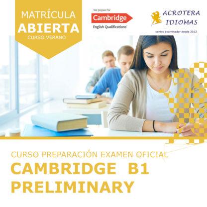 Curso intensivo Cambridge B1