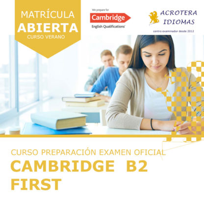 Curso intensivo Cambridge B2