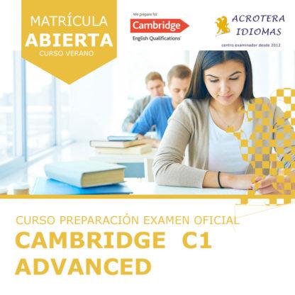 Curso intensivo Cambridge C1