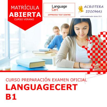 Curso intensivo LanguageCert B1