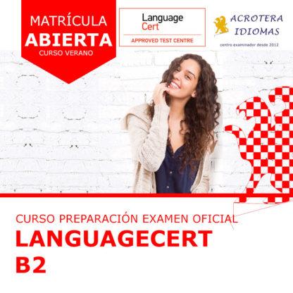 Curso intensivo LanguageCert B2