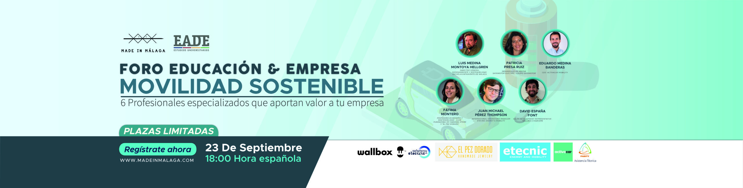 Movilidad Sostenible. Málaga 23 Septiembre 2021